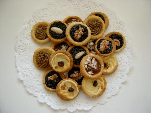 Svatební koláčky bez lepku, cukru a kvasnic