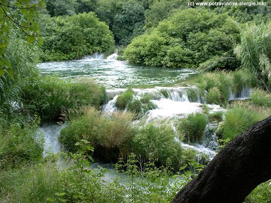 vodopád relaxace obrázek pro radost